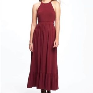 Dresses & Skirts - knit burgundy XXL